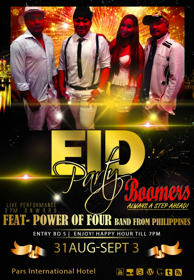 eid party@ boomers