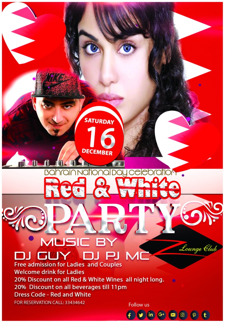 z lounge red and white party 2017 a