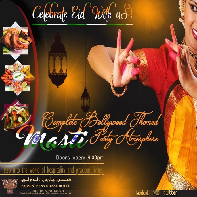 MASTI eid party
