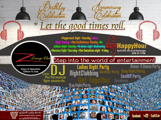 z lounge let the good time rol finall