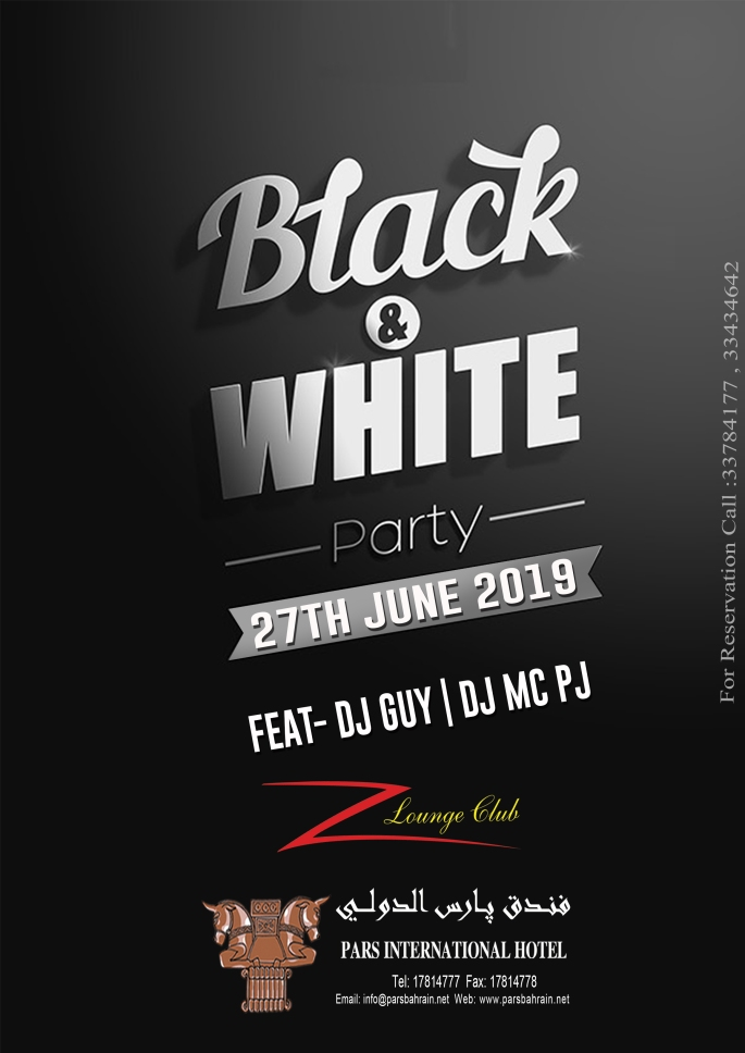 Black & white party2